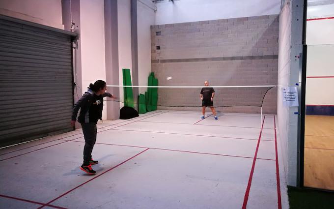 Badminton-Une